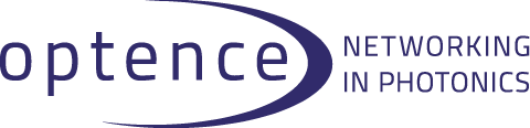 Logo: Optence e.V. - Networking in Photonics